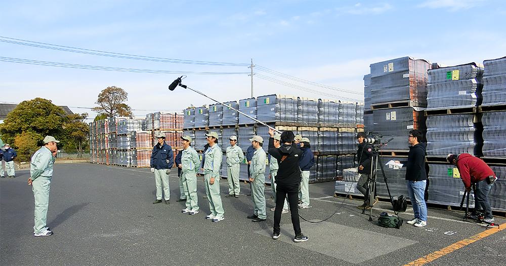 工場へ行こう PART II:撮影風景