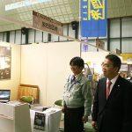 大村秀章愛知県知事と(ものづくりフェア in 碧南2019)
